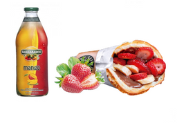 [Menú $4.990] Strawberry fields + Jugo
