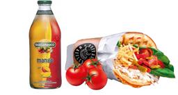 [Menú $4.990] Vegetariano + Jugo