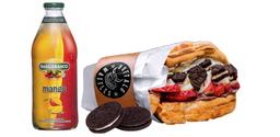 [Menú $4.990] Cheesecake + Jugo