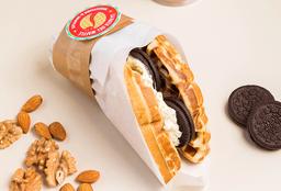 Cheesecake Oreo + Café a Elección