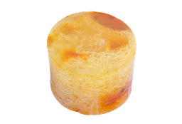 Jabón De Glicerina Exfoliante Con Lufa Natural