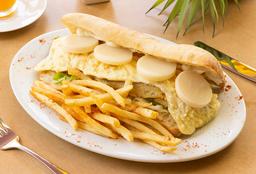 Hamburguesa Vegetariana. Opción Vegana
