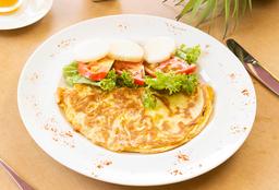 Omelette Con 2 Ingredientes A Elección