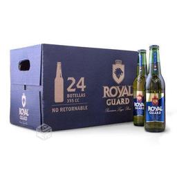 24x Cerveza Royal Guard 355cc