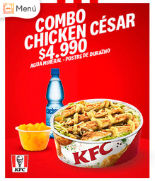 Combo Chicken Cesar