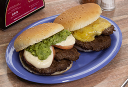 2 Hamburguesas Doble Carne