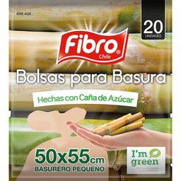 Fibro Bolsa Basura Cana Azucar 50X55 20U