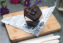 Muffins de Chocolate Relleno de Chocolate