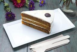 Trozo de Torta de Zanahoria
