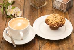 [Menú] Muffin de Manzana Sin Azúcar + 1 Latte