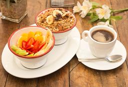 [Menú] Granola Fruta & Yogurht + Cafe Americano Simple