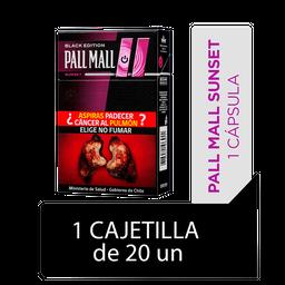 Pall Mall Cigarrillo Sunset Xl 20' S