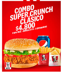 Combo Super Crunch Clásico