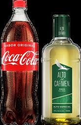 [Promo] Alto del Carmen 750cc + Coca Cola Sin Azucar 1,5 Lts