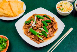 Carne Mongoliana Chaufan