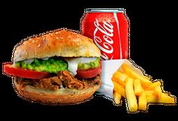 Sándwich Italiano + Papas Fritas + Bebida en Lata