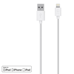 Cable Lightning USB 1.2 Mt. Belkin blanco