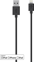 Cable Lightning USB 1.2 Mt. Belkin negro