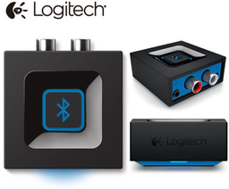 Receptor audio bluetooth con conector 3.5mm Logitech negro