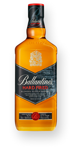 Whisky Ballantines Hard Fired