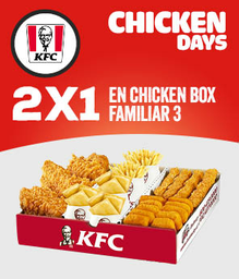 2x1 en Chicken Box Familiar
