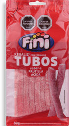 Gomitas Regaliz Fini Frutilla Ácida 80 g