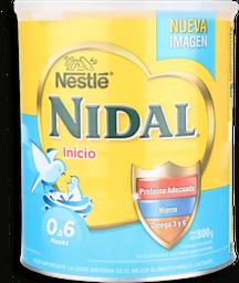 Formula Nidal Etapa 1 Desde 0 a 6 Meses 800 g