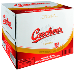 Caja Czechvar Botella 330ml 24U