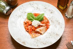 🍝Ravioles de Carne al Pomodoro