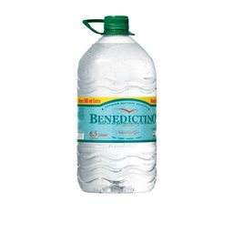 Agua Benedictino Bidon 6 Lt / 6.5 Lt