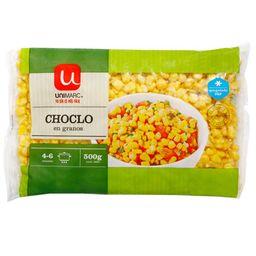 Choclo Grano Congelado Unimarc 500 Gr