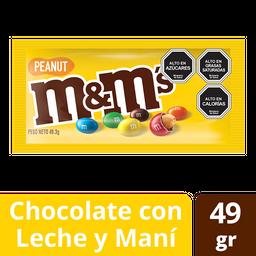 Chocolate Singles Peanut M&M 49 Gr