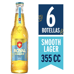 Cerveza Royal Guard Smoooth Lager 355 mL