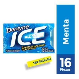 Chicle Dentyne Sin Azúcar Sabor A Menta 16Un 24g
