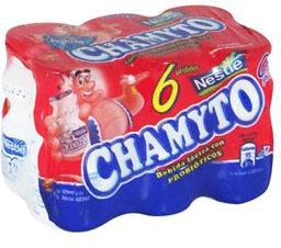 Chamyto Pack 6X Bebida Lactea Tradicional