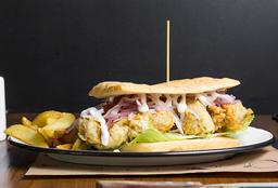 Sándwich de Pescado Frito