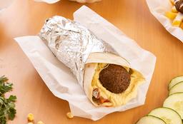 Tortilla De Falafel (Vegano)