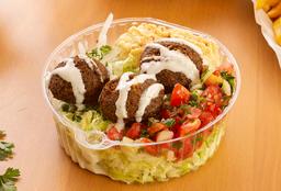 Ensalada Tawil Falafel (Vegan)