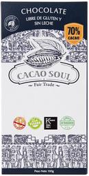 Barra de Chocolate 70% Cacao Organico