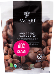 Chips De Chocolate 60% Cacao 200 Grs