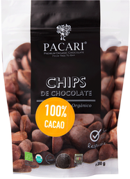 Chips De Chocolate 100% Cacao 200 Grs