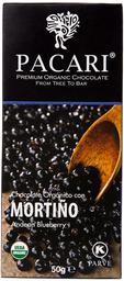 Barra Chocolate Arandano 60% Cacao 50 Grs