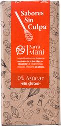Barra Chocolate Blanco Mani 80 Grs