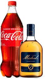 Promo Pisco Mistral 750cc + Coca Cola 1,5L Variedades