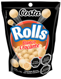 Rolls Blanco Crocante Chocolate 140 g