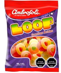 Gomitas Ácidas Loop Ambrosoli 100g