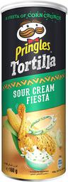 Tortillas Pringles Sour Cream Fiesta 160 g
