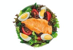 Ensalada Huevo Pollo