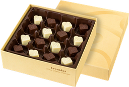 Caja Surtida Con 18 Bombones De Chocolate Sin Azucar