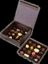 Caja Surtida Con 32 Bombones De Chocolate Sin Azucar